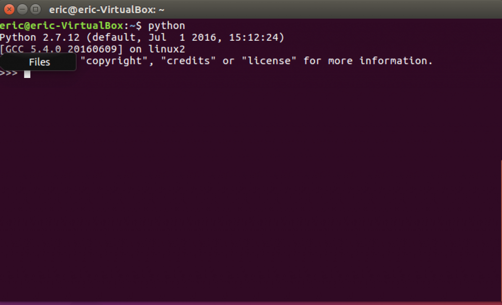 Installing Python on linux - check