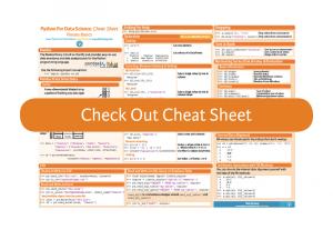 pandas Cheat Sheet (via yhat) - Python Data